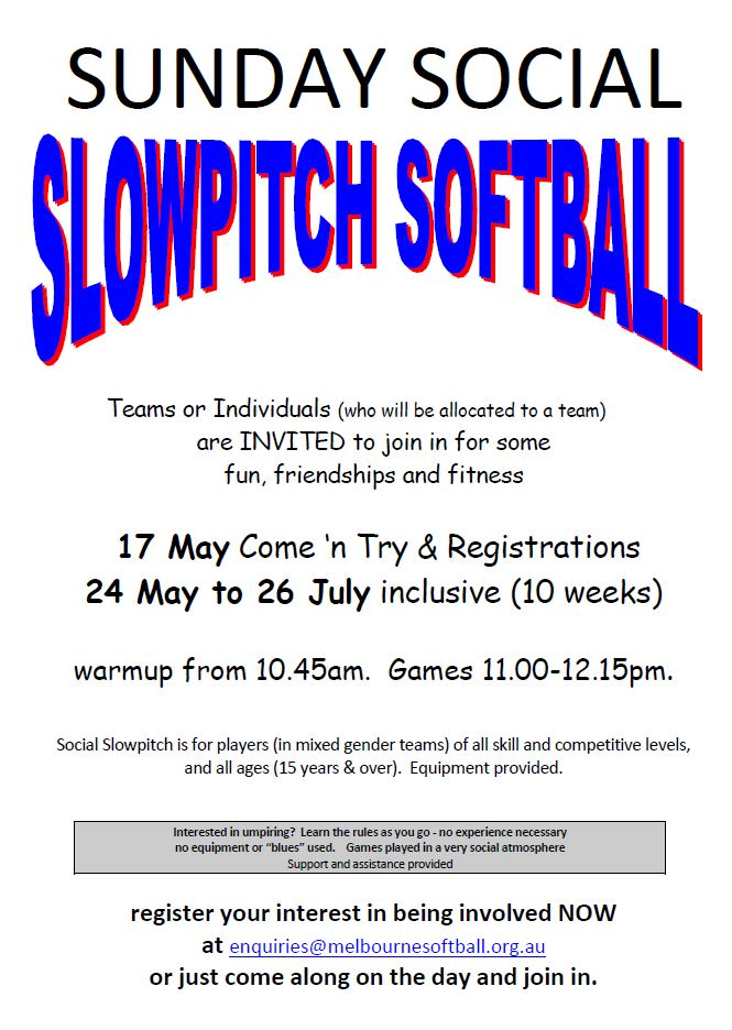 Social Slowpitch
